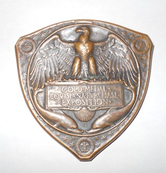 Gold Medal Loyisiana Purchase Exposition