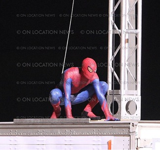Spidey on Location