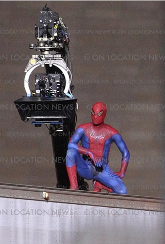 Spiderman on Location