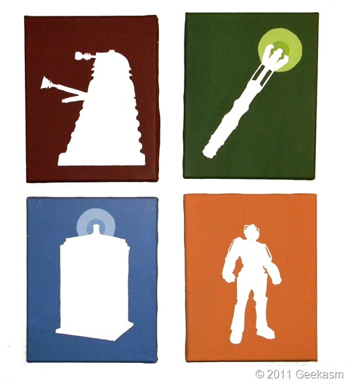 doctor-who-canvas-painting