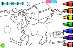 bingo coloring
